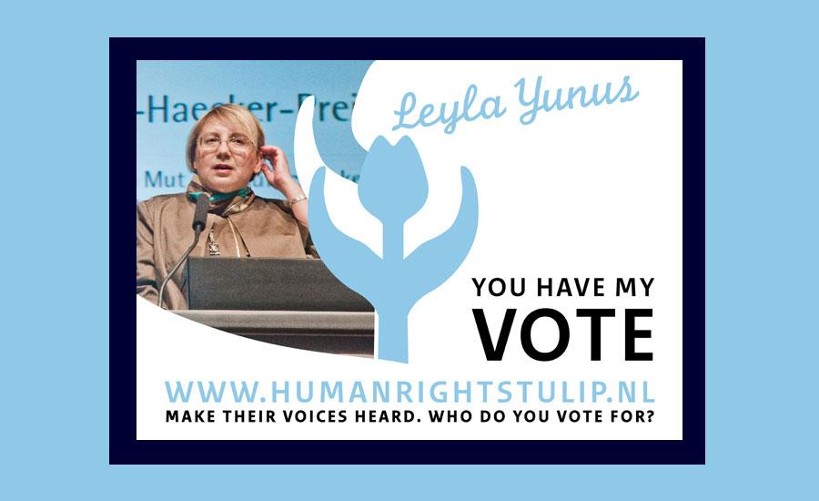 Leyla Yunus Tulip Award