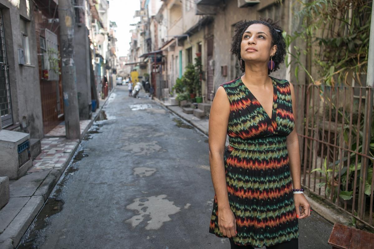 Marielle Franco in Rio de Janeiro. © Mídia Ninja