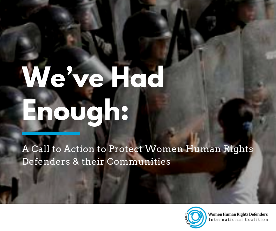 Call to action WHRDs